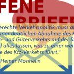 Prof. Monheim: Offener Brief zum Streit über die B27