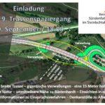 20.9. Trassenpaziergang 18 Uhr: Der Wahnsinn berührt auch Bästenhardt