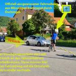 Radfahren durch Öschingen ist lebensgefährlich!